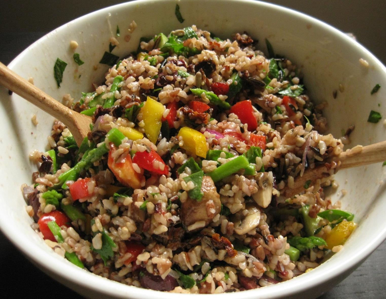 Wild Rice Salad… | Blissfully Vegan